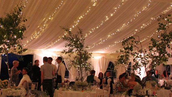 SVL wedding lighting